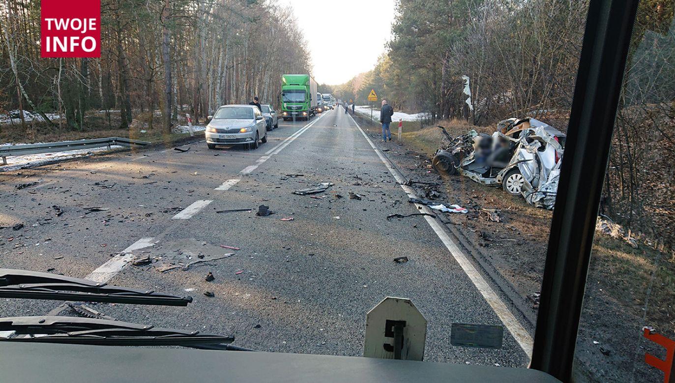 Droga krajowa nr 10 została odblokowana (fot. Twoje info)