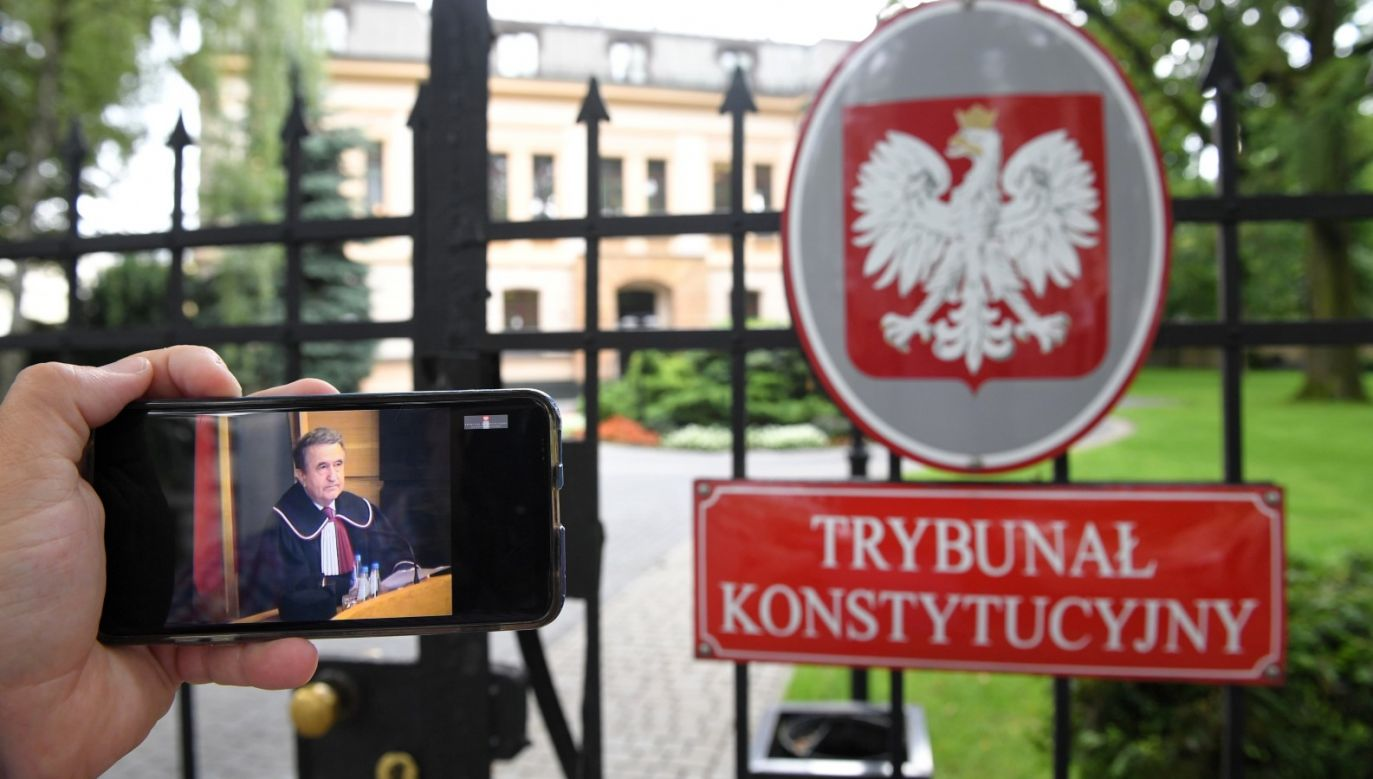The Constitutional Court announced its decision on Tuesday. Photo: PAP/Radek Pietruszka