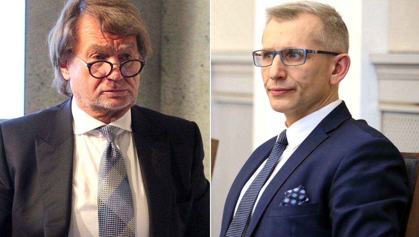 Jan Kulczyk i Krzysztof Kwiatkowski (fot. arch. PAP/Andrzej Grygiel/PAP/Leszek Szymański)
