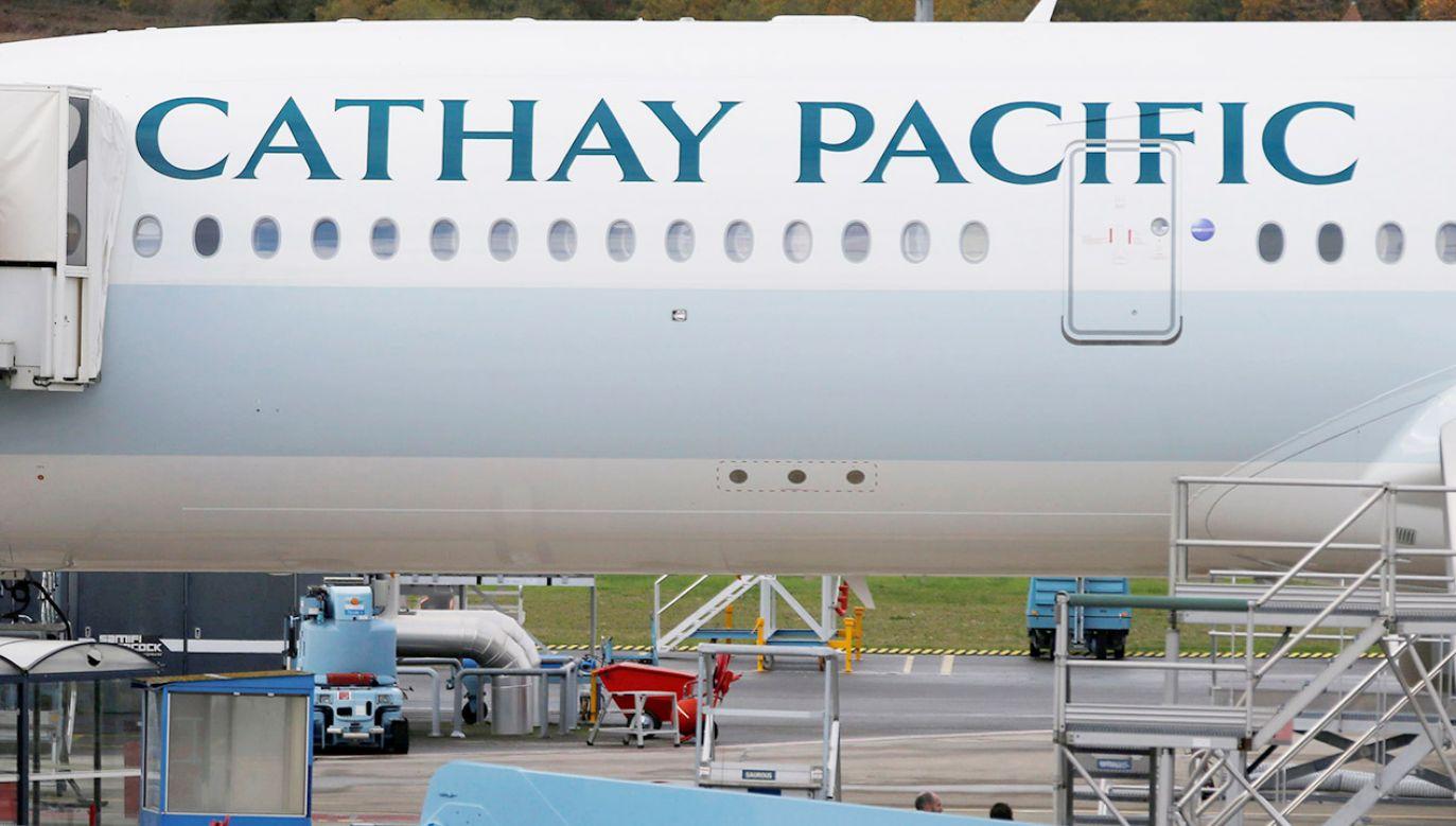 Linie lotnicze przyznały się do błędu (fot. REUTERS/Regis Duvignau)