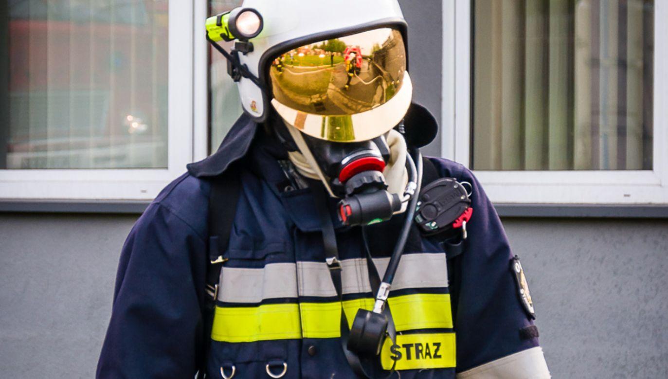 Do akcji skierowano trzy zastępy straży pożarnej (fot. Flickr/Krzysztof Cabak)