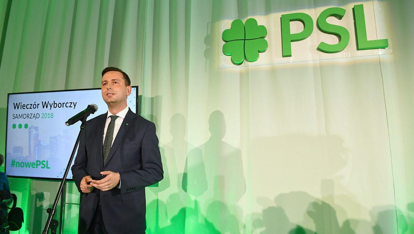 PSL musi sprostować słowa o premierze Morawieckim (fot. PAP/Radek Pietruszka)
