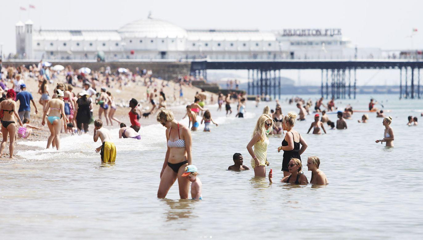 Kolejne pięć lat będzie najprawdopodobniej jeszcze cieplejszych (fot. REUTERS/Luke MacGregor)