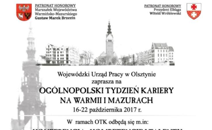 Ogólnopolski Tydzień Kariery na Warmii i Mazurach potrwa od 16 do 22 października
