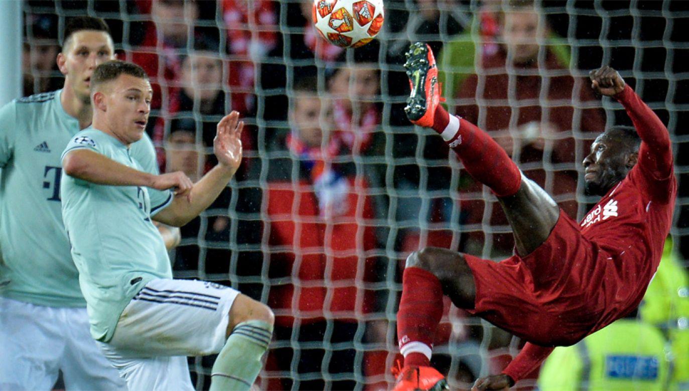 Sadio Mane już po raz drugi padł ofiara włamywaczy odkąd przeniósł się do Liverpoolu (fot. PAP/EPA/PETER POWELL)