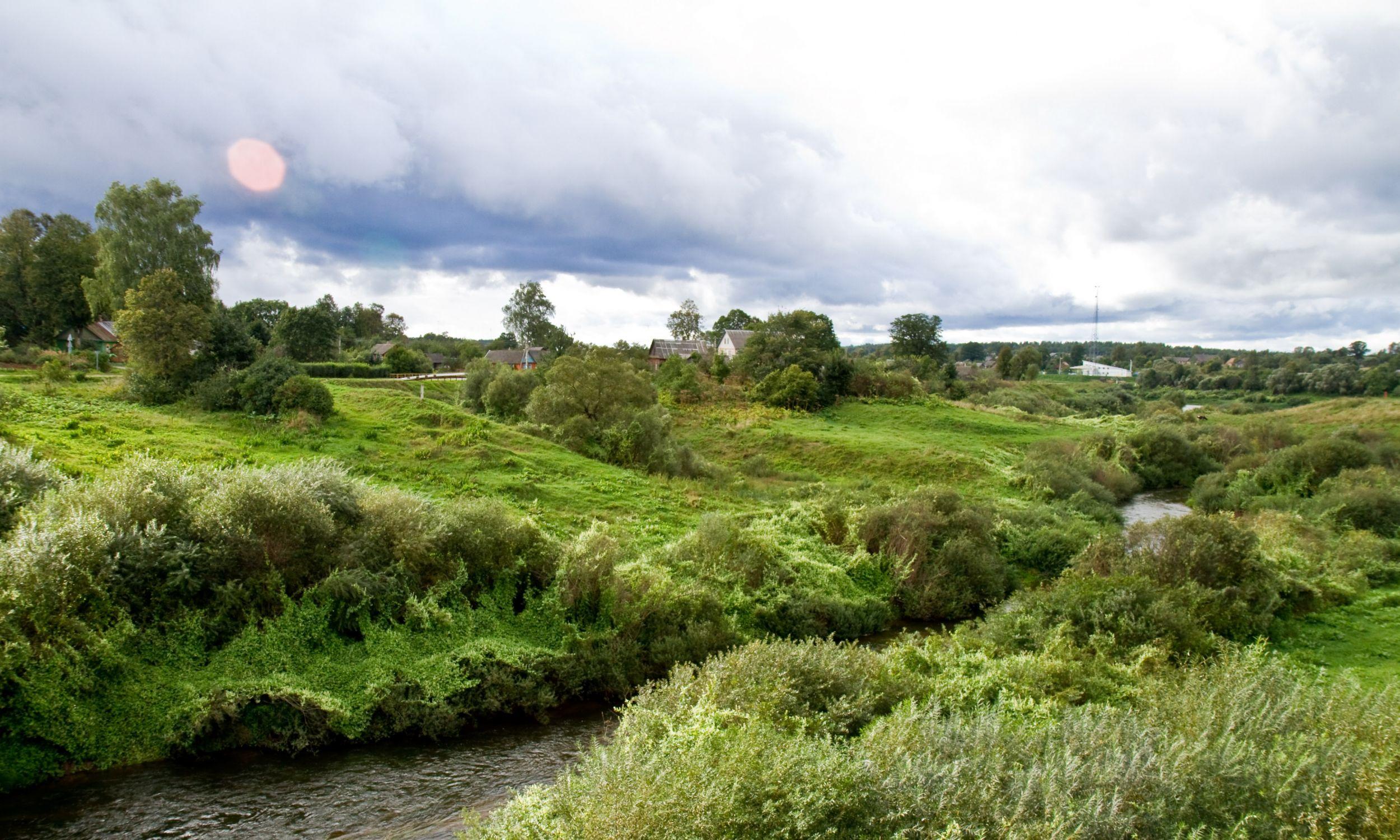 Rzeka Drujka w Drui. 2010 r. Fot. Wikimedia/zedlik