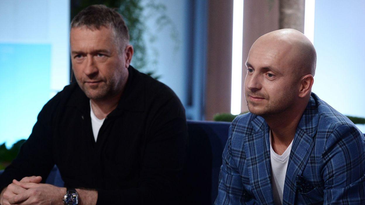 Rafał Sonik i Kajetan Kajetanowicz – rajdowcy. (fot. Jan Bogacz/TVP)