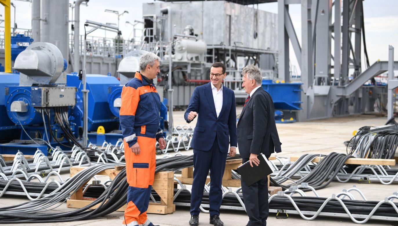 Premier o uniezależnieniu się Polski od rosyjskiego gazu (fot. PAP/Darek Delmanowicz)