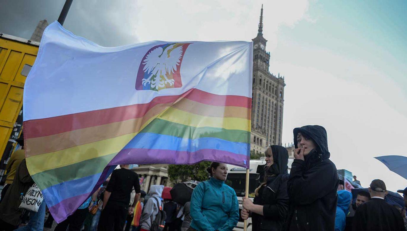 Parada LGBT+ w Warszawie (fot. arch. PAP/Jakub Kamiński)
