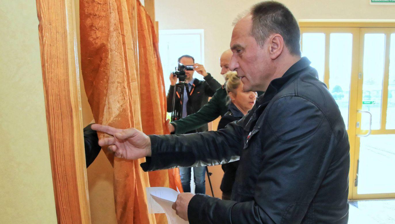 Ruch Pawła Kukiza po raz pierwszy zaznaczył swoją obecność w samorządach (fot. arch. PAP/Krzysztof Świderski)