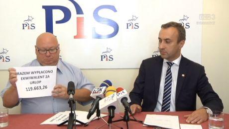 Włocławscy radni PiS nie godzą się na ekwiwalent za niewykorzystany urlop