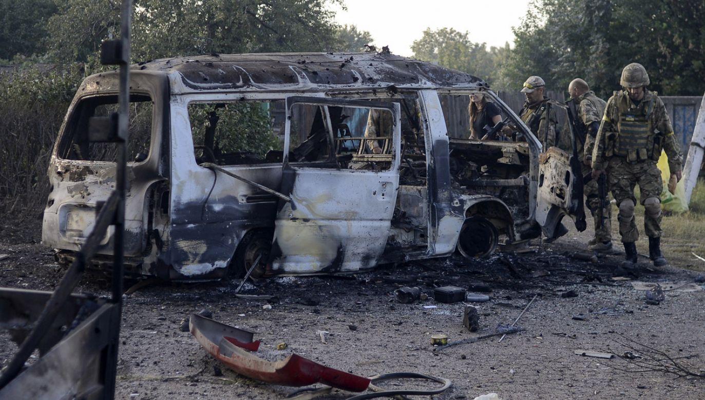 Rozmowy o uregulowaniu konfliktu w Donbasie nadal będą się toczyć w formacie normandzkim (fot. REUTERS/Maks Levin)