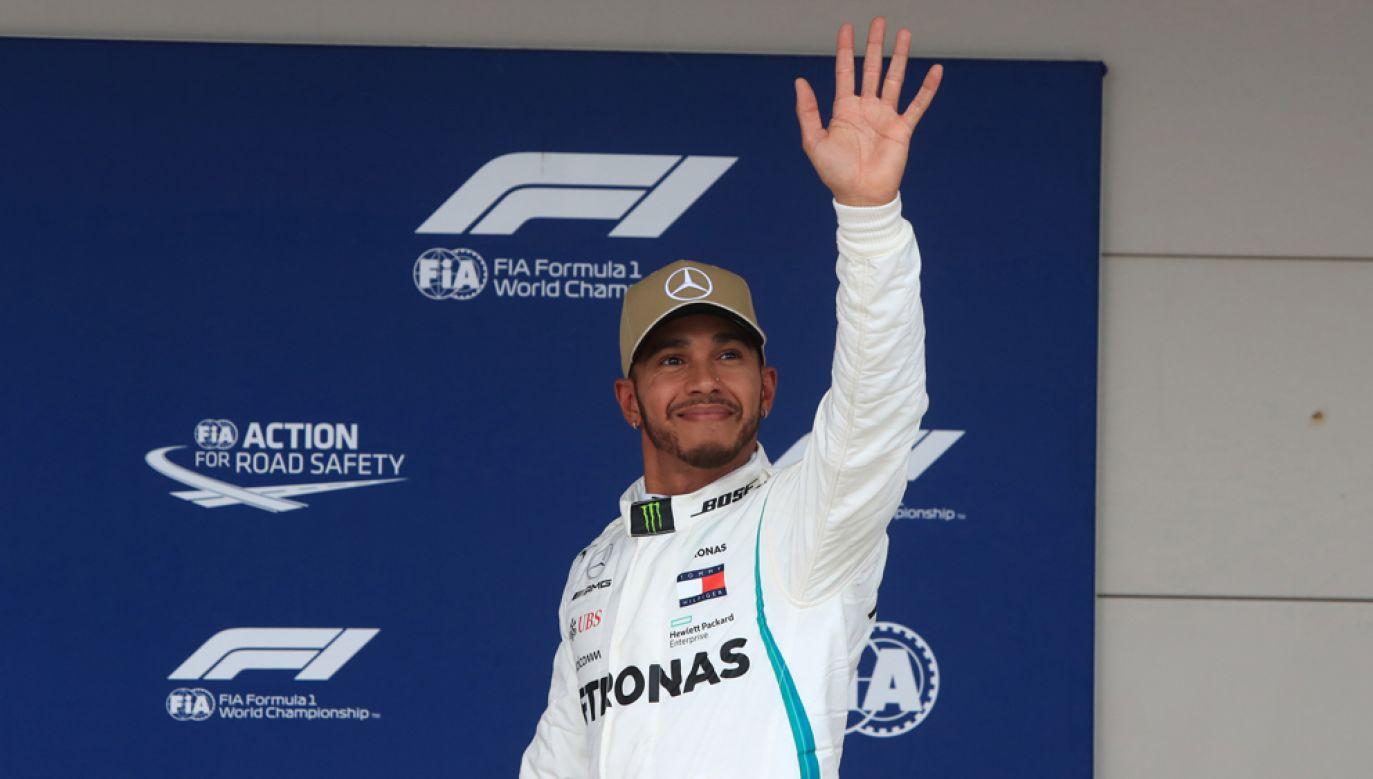 Hamilton wywalczył pole position po raz 81. w karierze (fot. Octane/Action Plus via Getty Images)