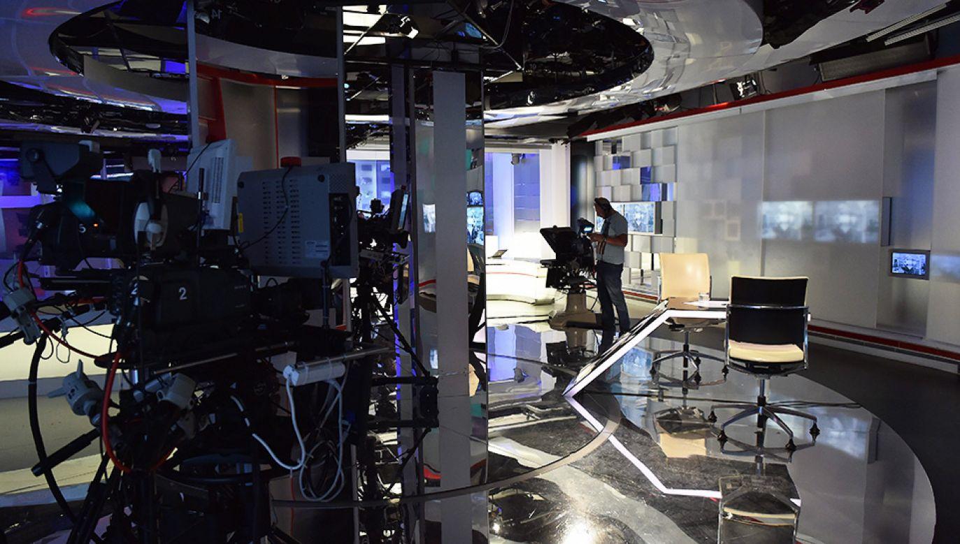Zapraszamy na pasmo publicystyki do TVP Info (fot. arch.TVP/PAP/Ireneusz Sobieszczuk)