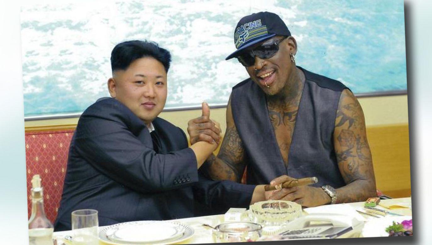 Od 2013 roku Dennis Rodman pięciokrotnie odwiedził Koreę Północną (fot. TT/ABC News)