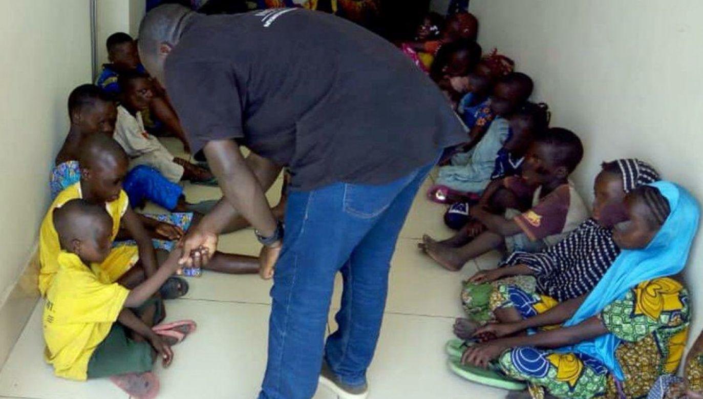 Wśród uratowanych było 157 dzieci (fot. Interpol)