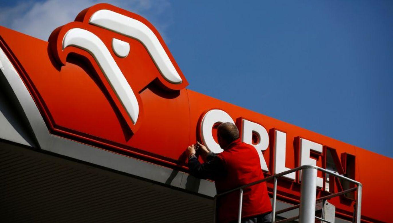 Polska stacja paliw Orlen (fot. REUTERS/Kacper Pempel)