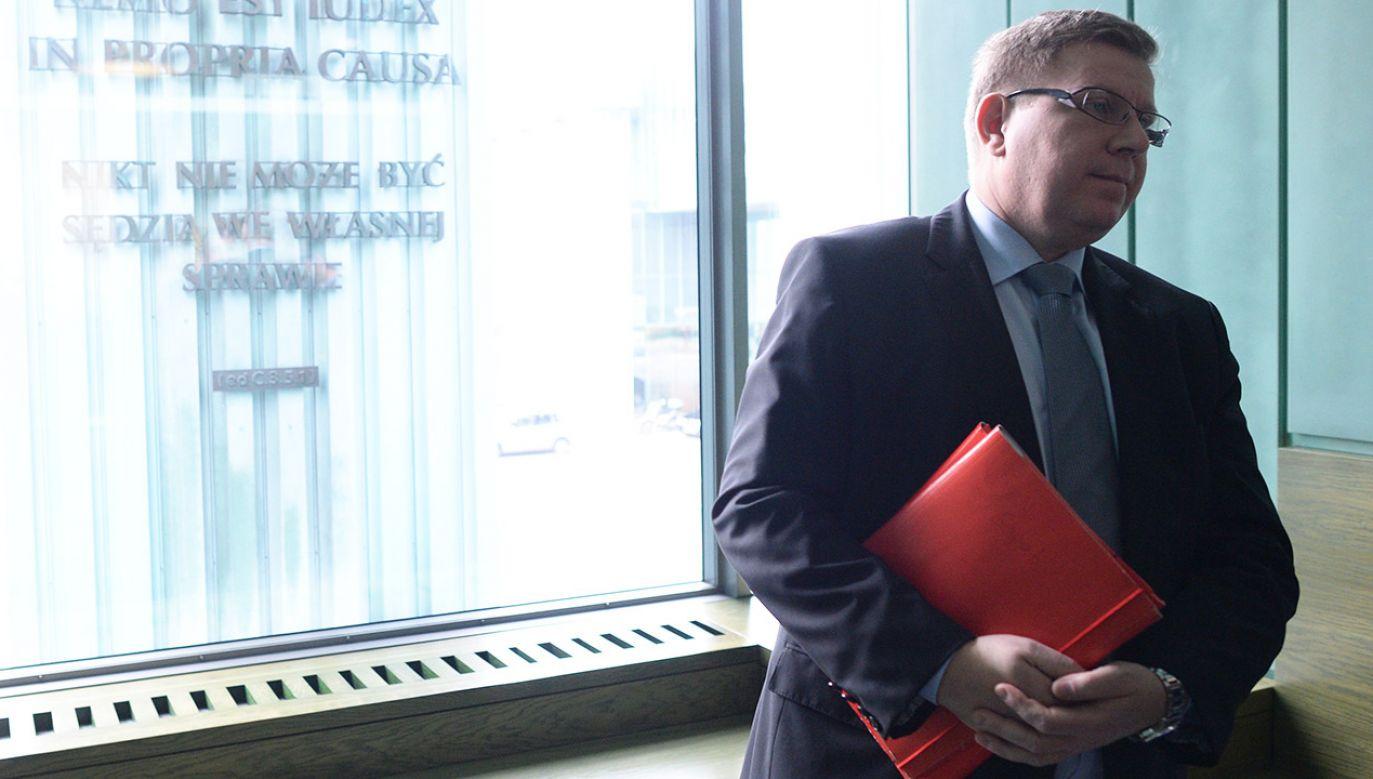 Milewski złożył wniosek o przejście w stan spoczynku (fot. arch.  PAP/Jacek Turczyk)