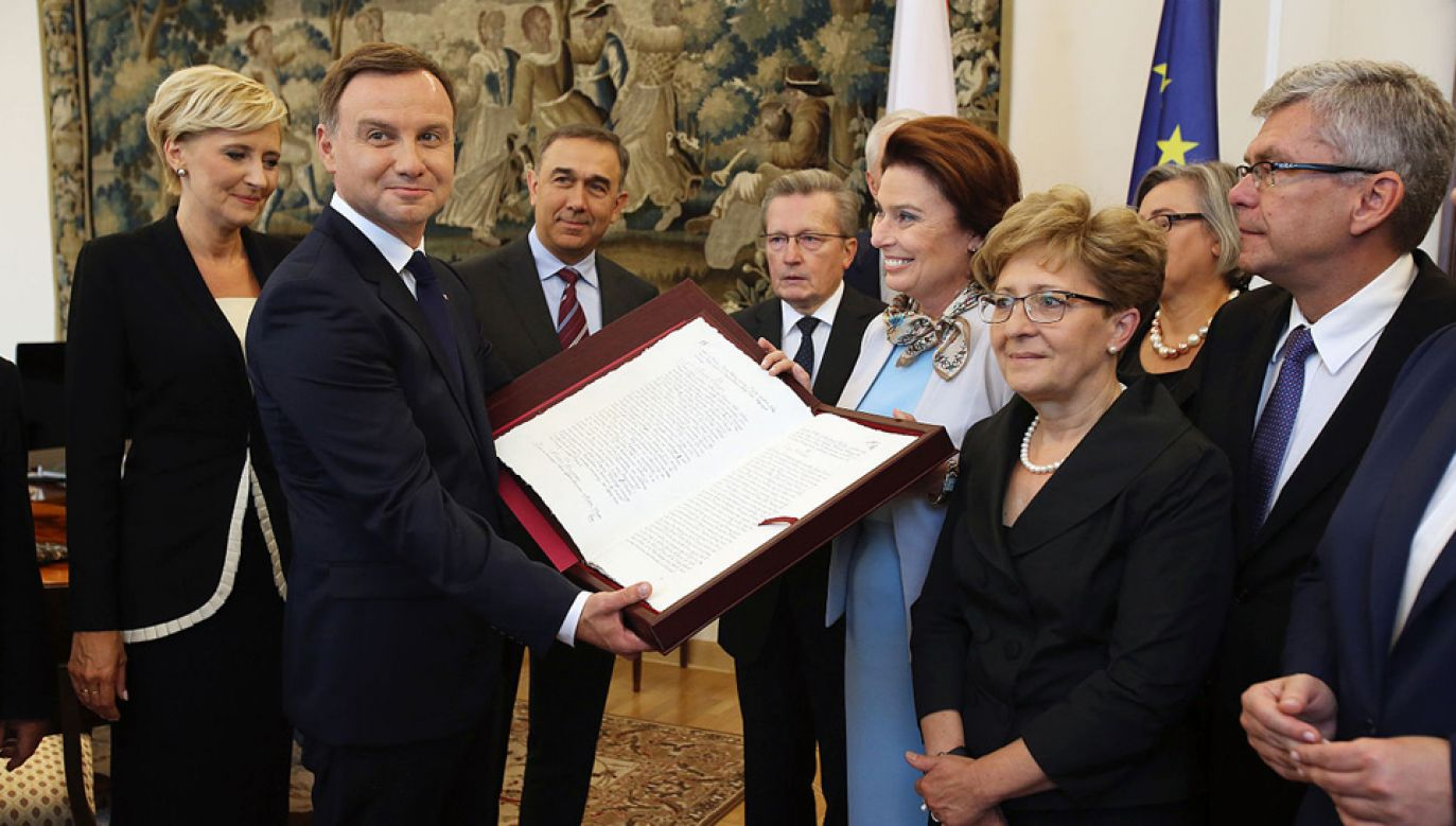 Prezydent ogłosił swoją inicjatywę referendum w sprawie zmian w konstytucji 3 maja 2017 r. (fot. Kancelaria Senatu/CC BY-SA 3.0 pl)