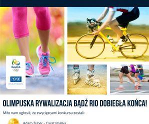 Zakończenie konkursu Bądź Rio!