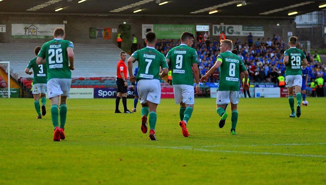 Irlandzki Cork City FC będzie rywalem Legii Warszawa w pierwszej rundzie eliminacji piłkarskiej Ligi Mistrzów (fot. fb/Cork City FC)