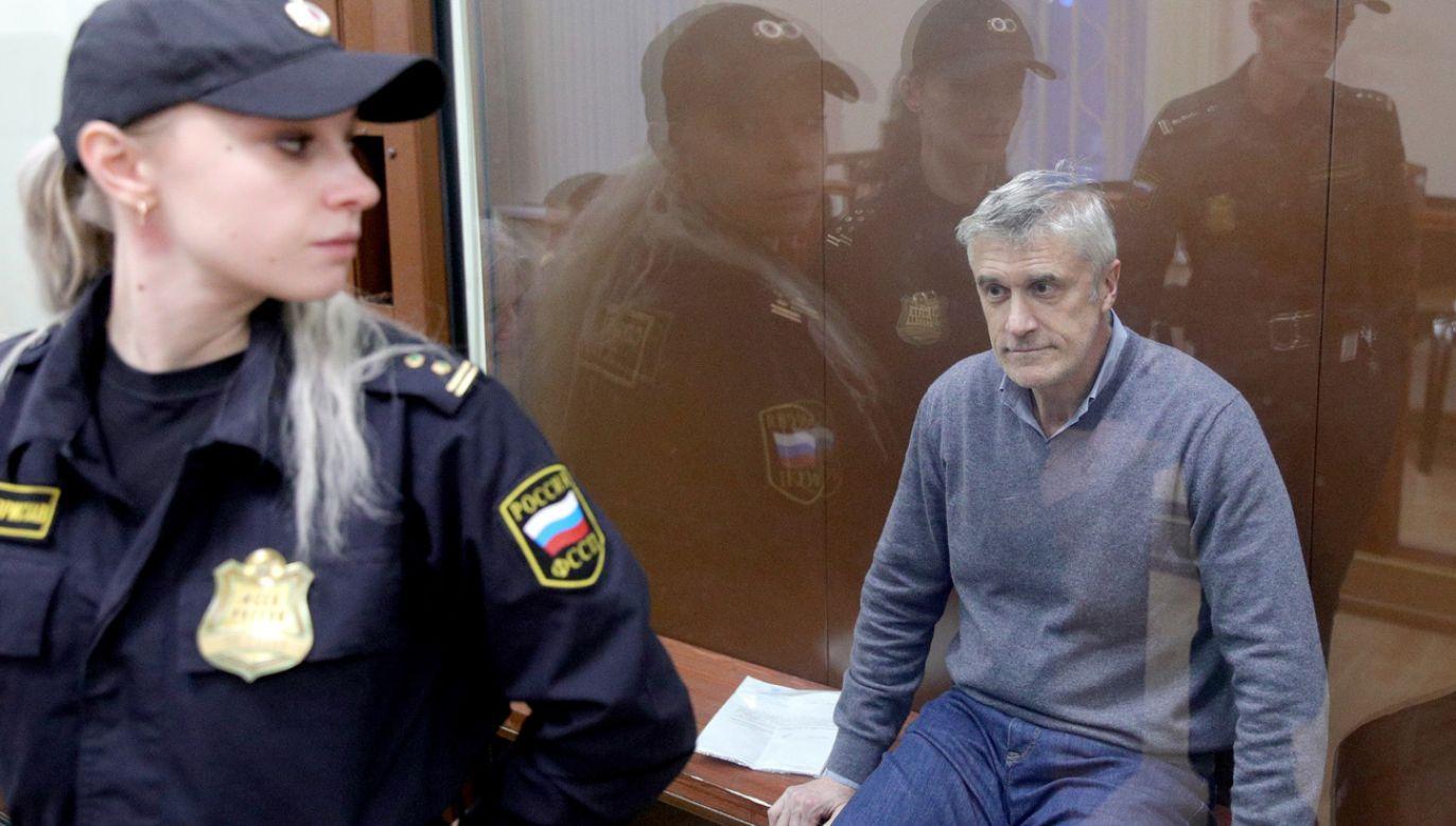 Michael Calvey ma pozostać w rosyjskim areszcie (fot. Sergei Bobylev\TASS via Getty Images)