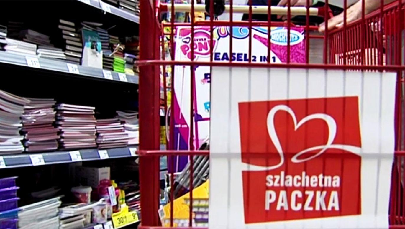 W sobotę rozpoczyna się akcja charytatywna Szlachetna Paczka (fot. TVP Info)