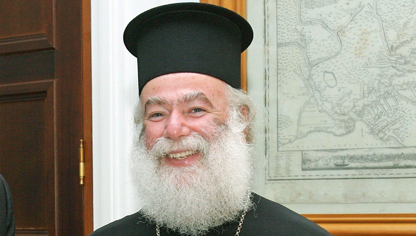 Patriarch of Alexandria Theodoros II. Photo: commons.wikimedia.org/Υπουργείο Εξωτερικών