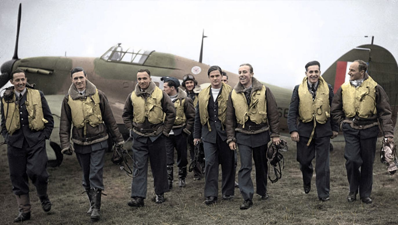 Polscy lotnicy brali udział w bitwie o Anglię (fot. Wikipedia)
