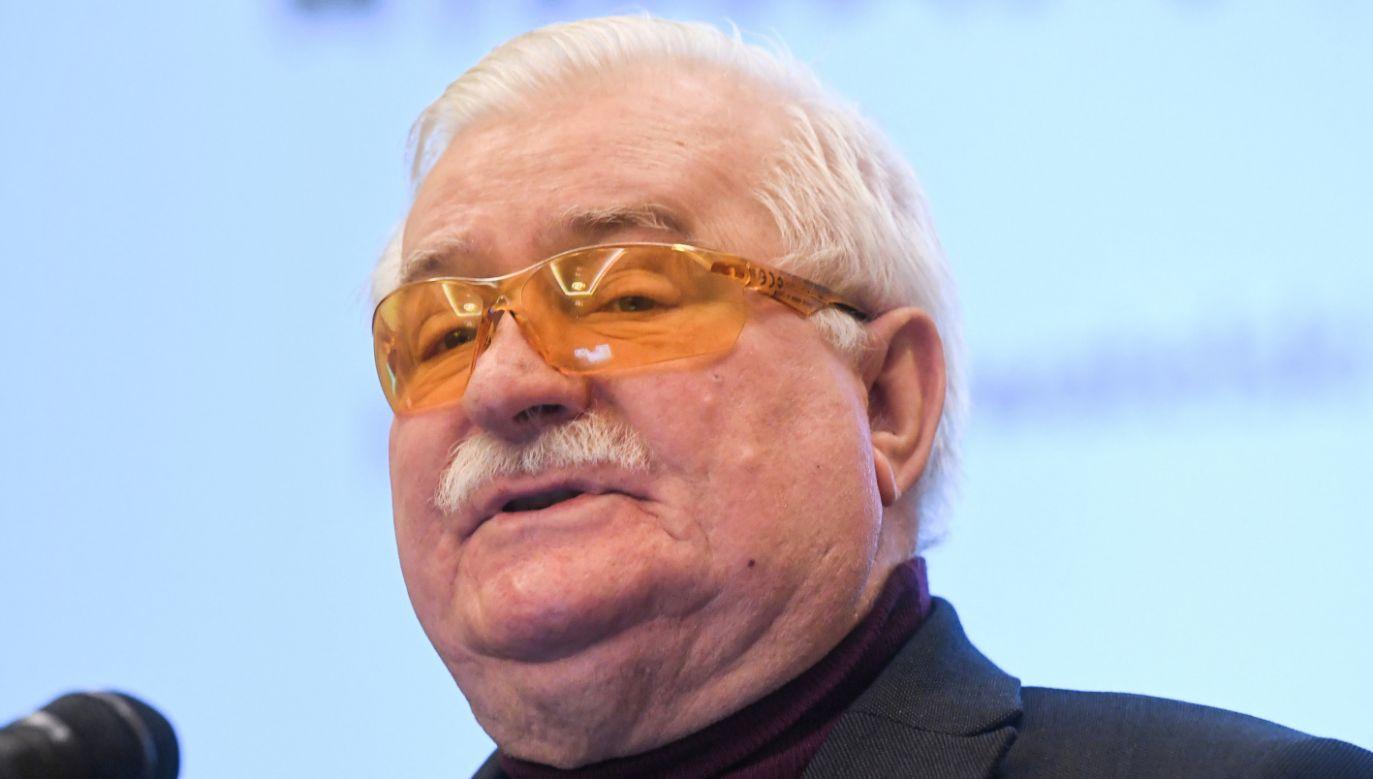Wałęsa był pytany również o doniesienia dotyczące przeszłości agenturalnej ks. Jankowskiego (fot. PAP/Piotr Nowak)