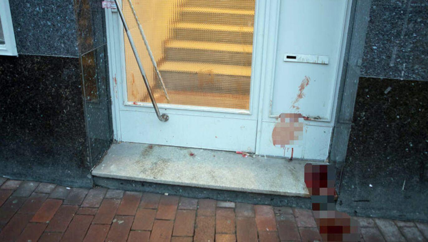 Śledczy uważają, że Mohamed J. nie był przypadkową ofiarą (fot. TT/TAG24 NEWS Hamburg)