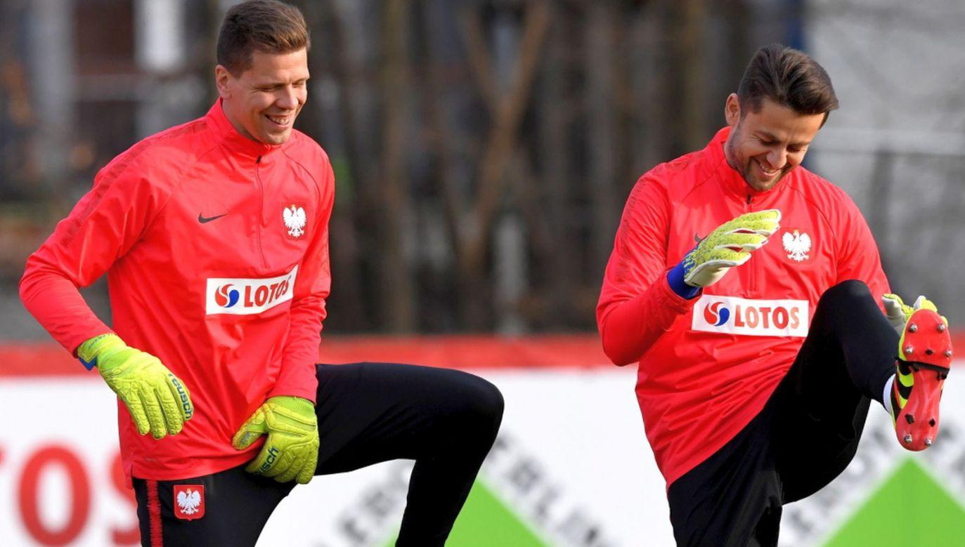 Wojciech Szczęsny i Łukasz Fabiański (fot. PAP/Piotr Nowak)