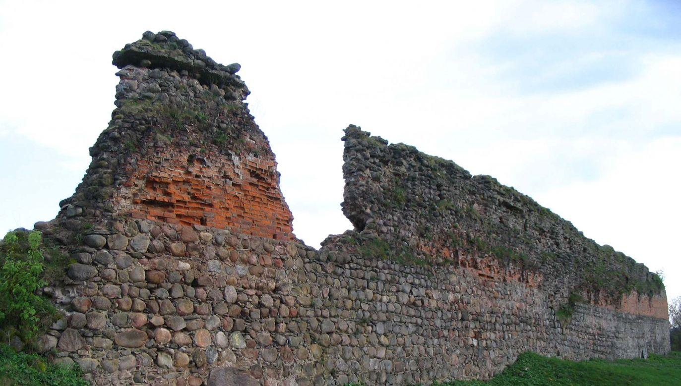 The ruins of Kreva Castle. Photo: Wikimedia/Viktar Paułścik