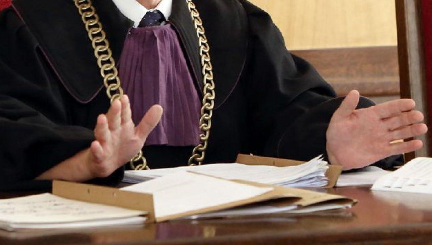 Sędzia ukradł towar wart ok. 100 zł (fot. arch.TVP)
