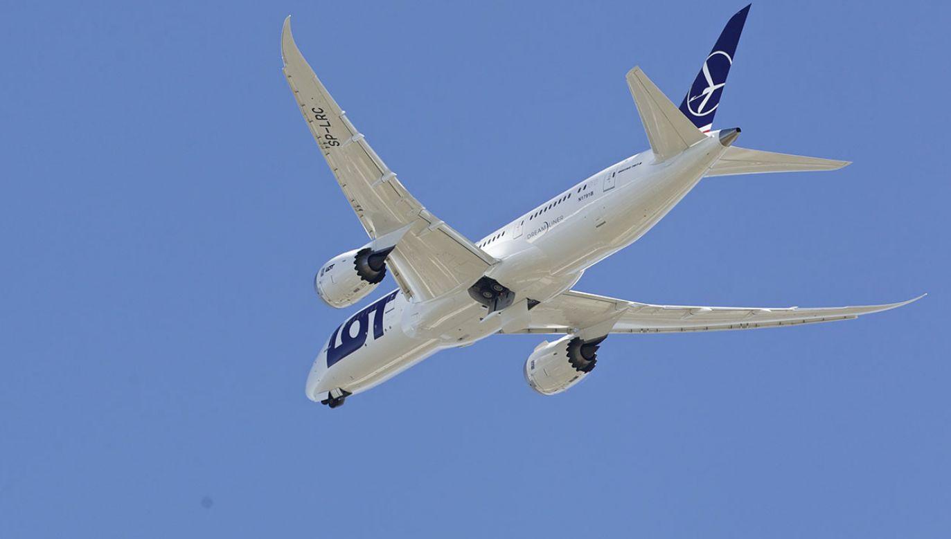 LOT w ubiegłym roku przewiózł rekordową liczbę ponad 8,8 milionów pasażerów, czyli o 2 miliony więcej niż rok wcześniej (fot. Stephen Brashear/Getty Images)