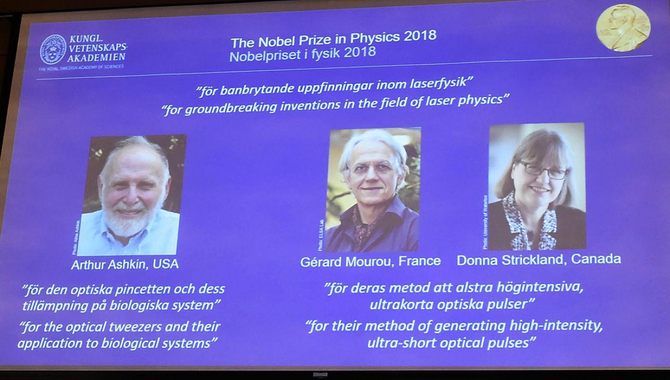 Tym razem nagrodę przyznano za opracowanie praktycznej technologii – skomentował fizyk dr hab. Piotr Wasylczyk (fot. PAP/EPA/Hanna Franzen)