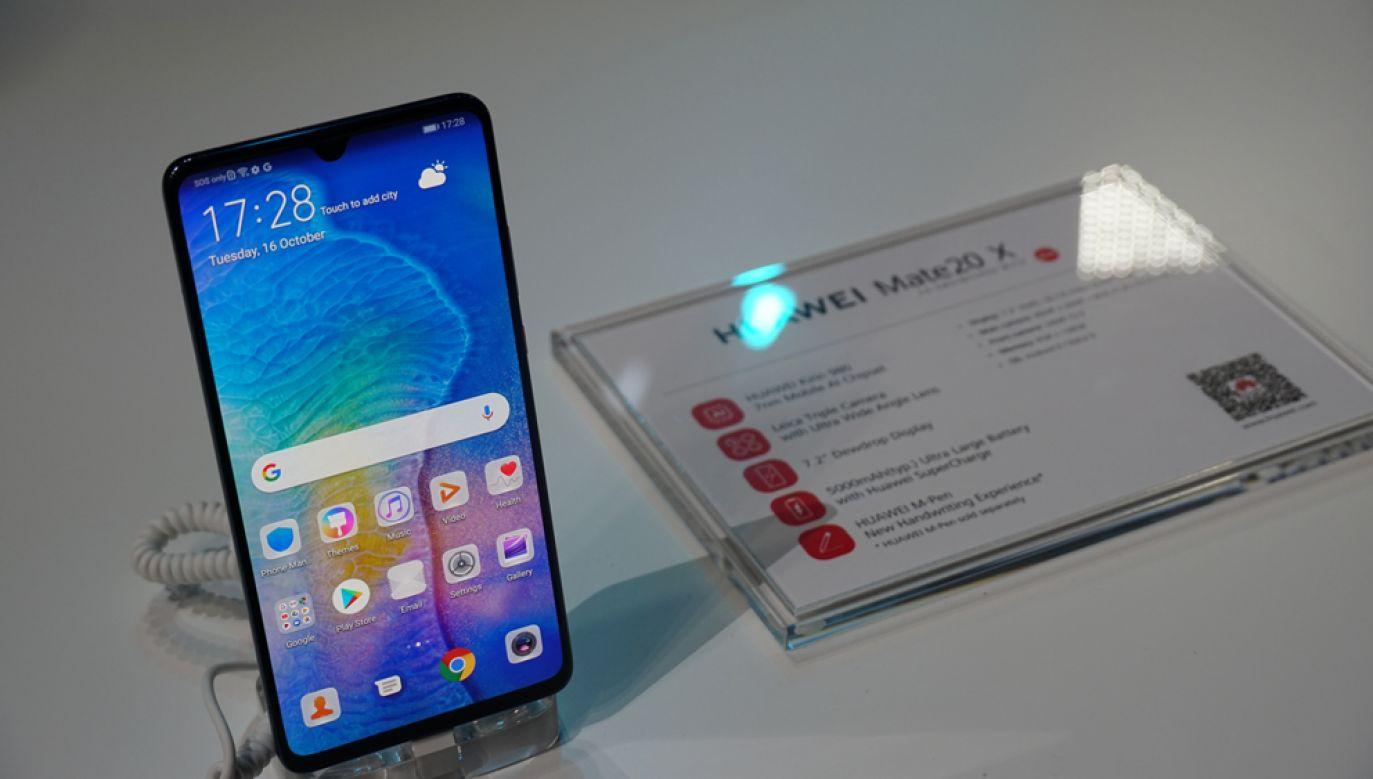 Huawei może zostać wykluczona w uczestnictwie w zamówieniach rządowych Japonii ze względu na obawy o bezpieczeństwo informacji wywiadowczych (fot. Li Hao/Huanqiu.com/VCG via Getty Images)