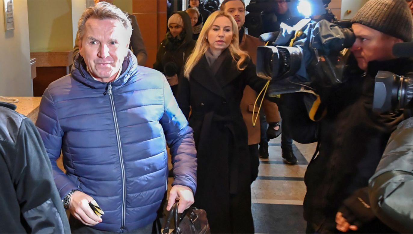 Gerald Birgfellner domaga się pieniędzy od spółki Srebrna (fot. PAP/Piotr Nowak)