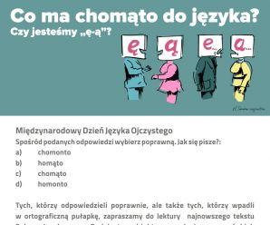 Międzynarodowy Dzień Języka Ojczystego 2018