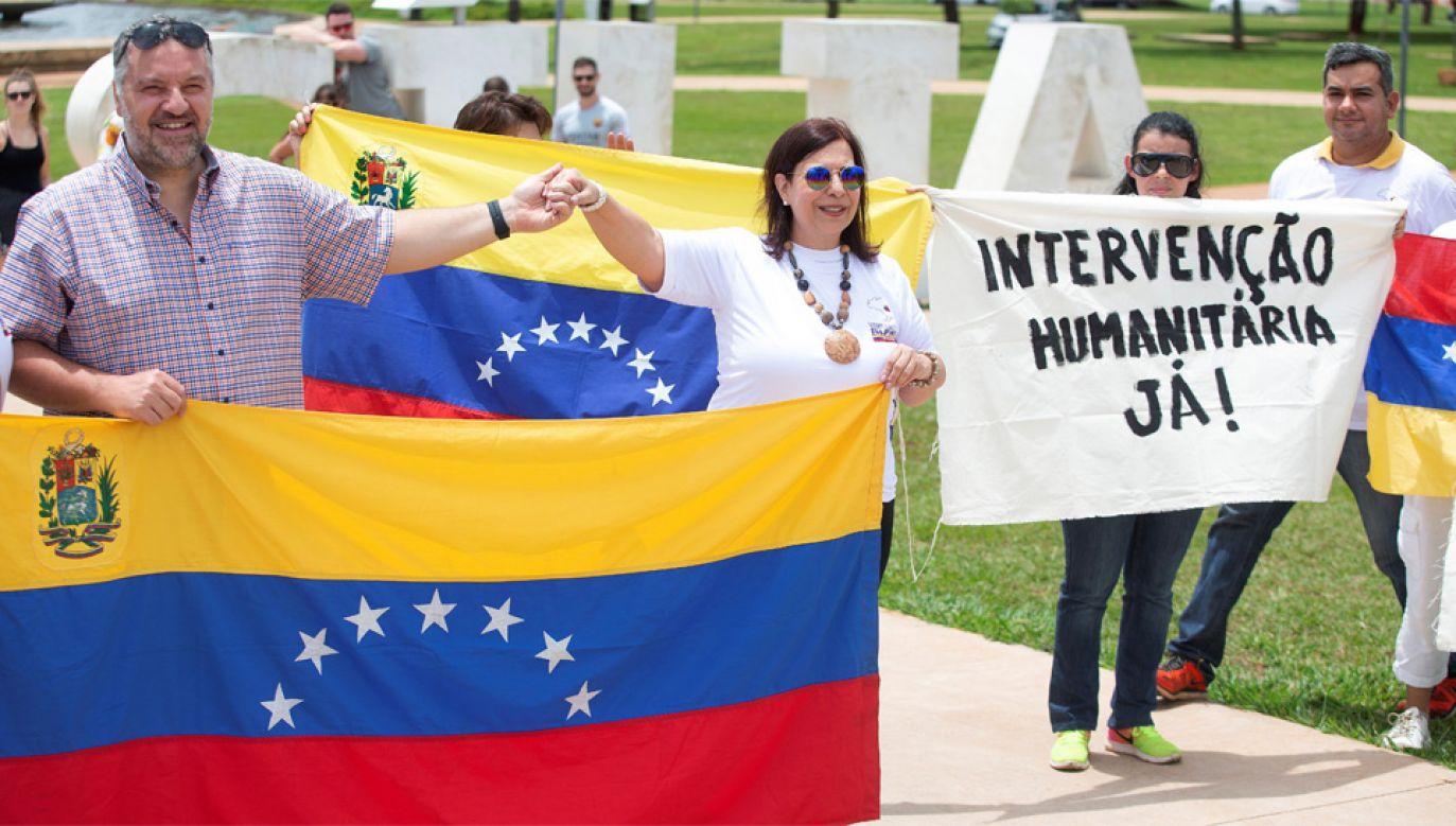 Protesty w Wenezueli trwają od wielu miesięcy (fot. PAP/EPA/JOEDSON ALVES)