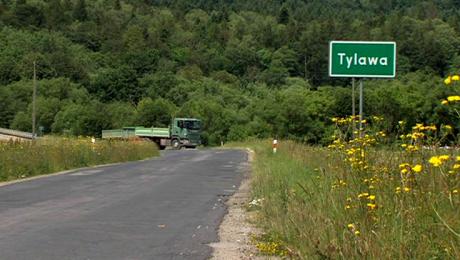 Remont drogi wojewódzkiej z Tylawy do Ustrzyk Dolnych