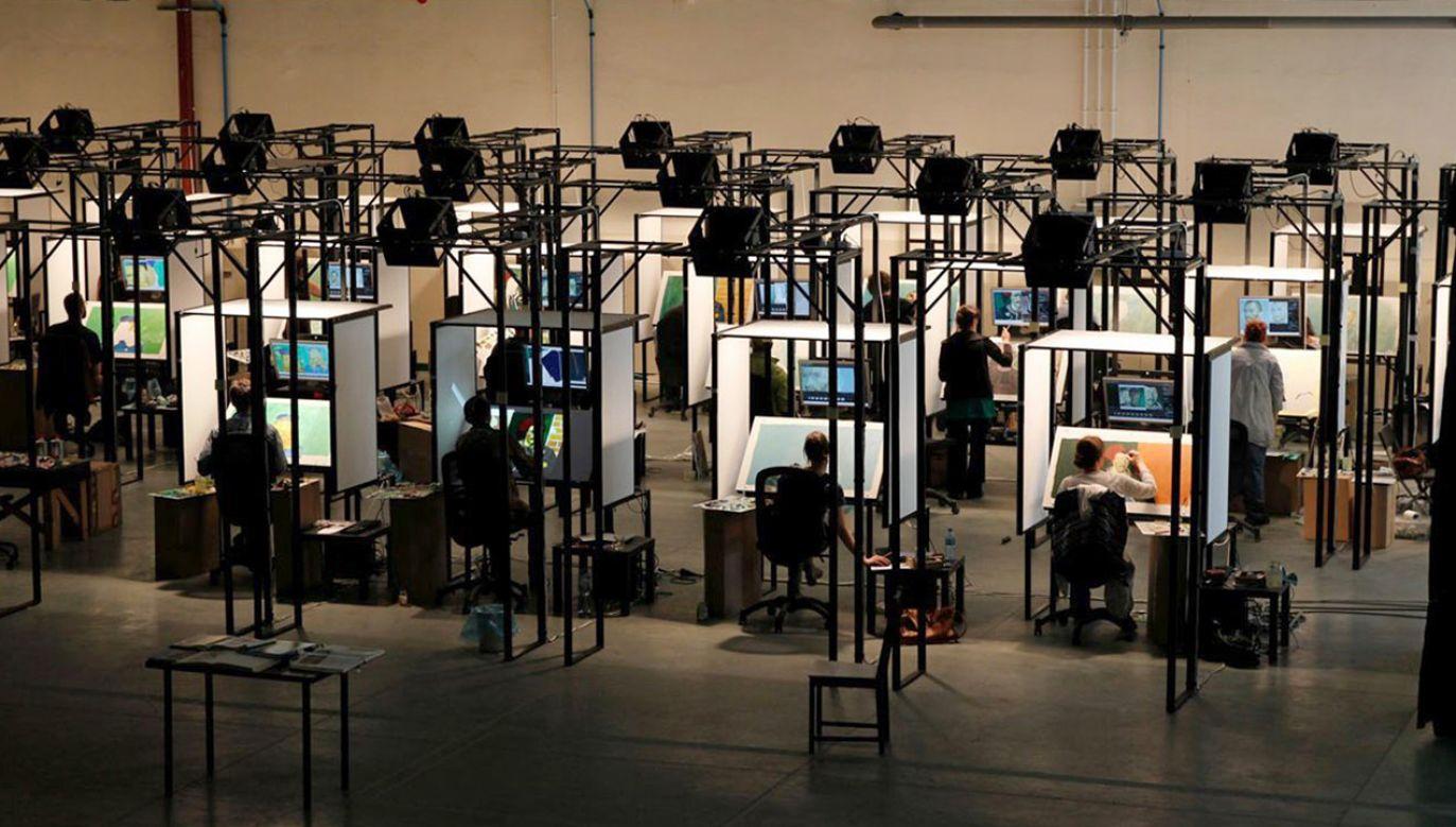 Bartosz Armusiewicz to jeden ze 125 artystów, którzy pracowali przy filmie (fot. BreakThru Films)