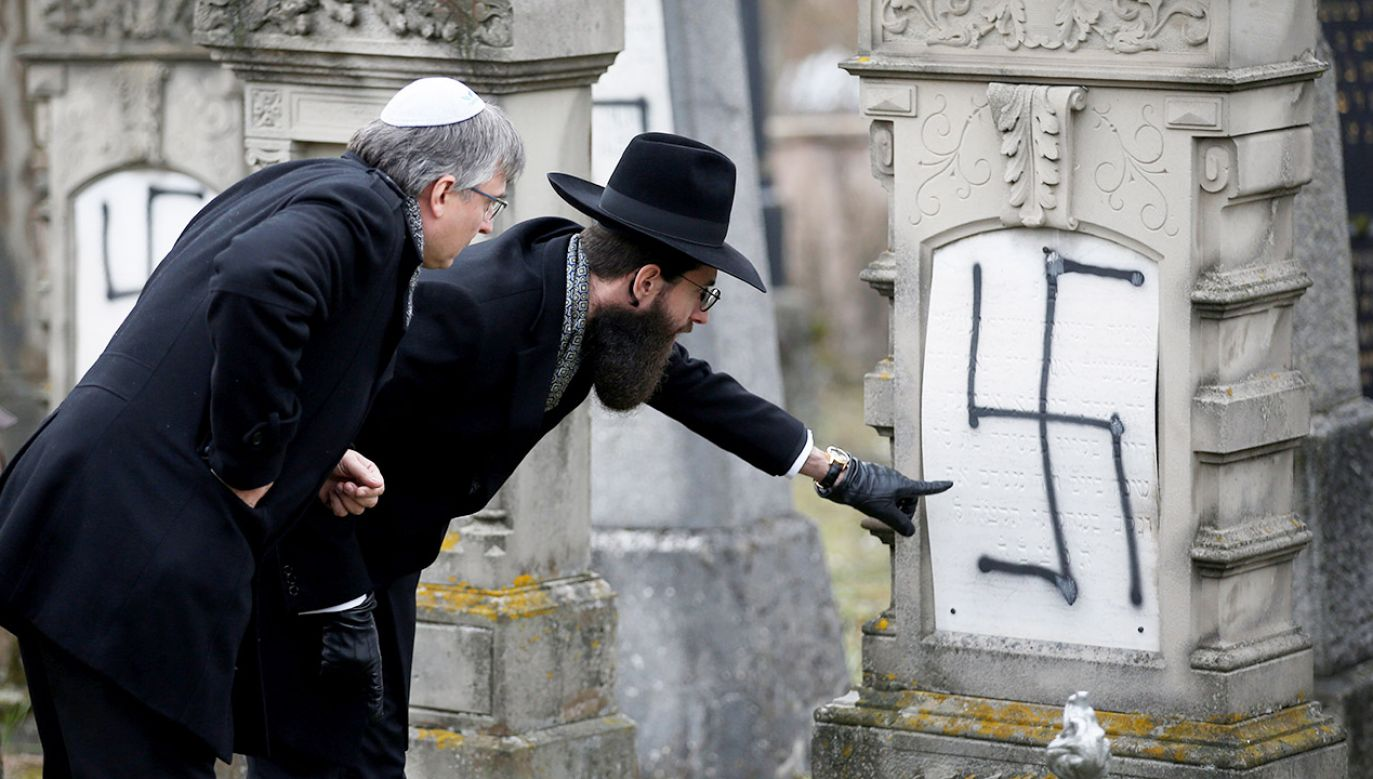Rośnie liczba antysemickich incydentów we Francji (fot. REUTERS/Vincent Kessler)