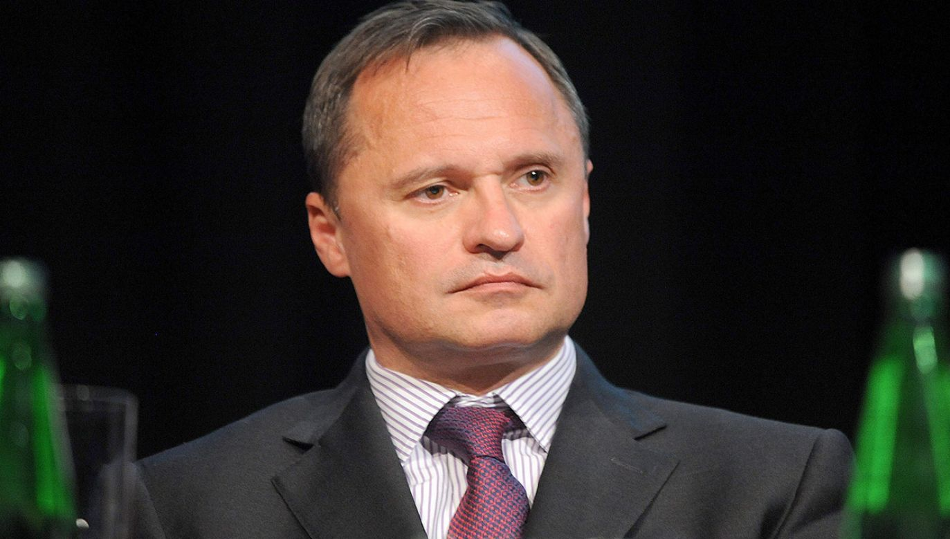 Leszek Czarnecki oskarża szefa KNF Marka Chrzanowskiego (fot. PAP/Szymon Łaszewski)