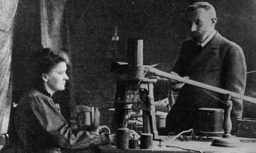 Pierre i Maria Curie (fot. Hulton Archive/Getty Images)