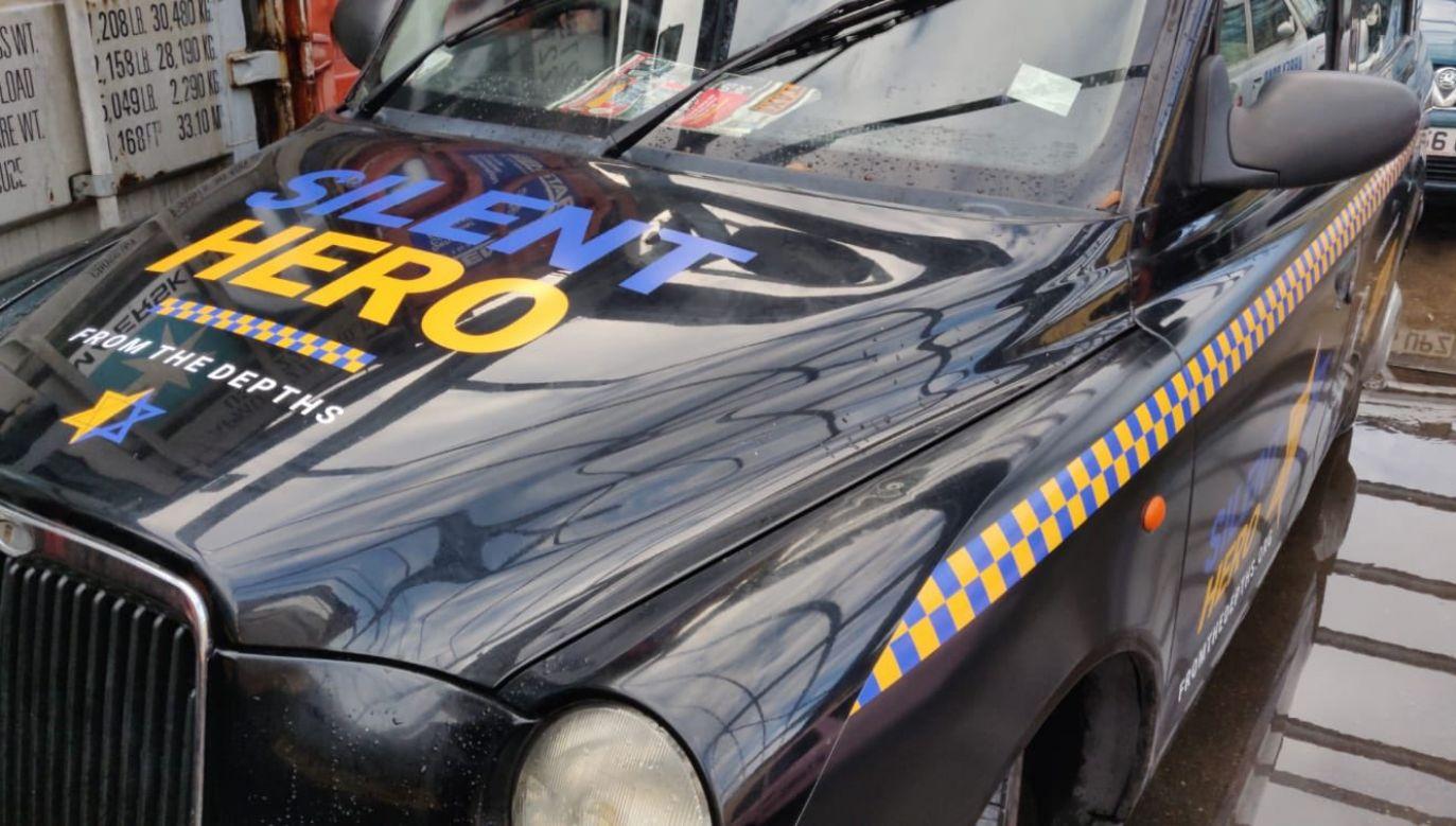 "Kampania ""Silent Hero Taxi"" (fot. TT/Jonny Daniels)"