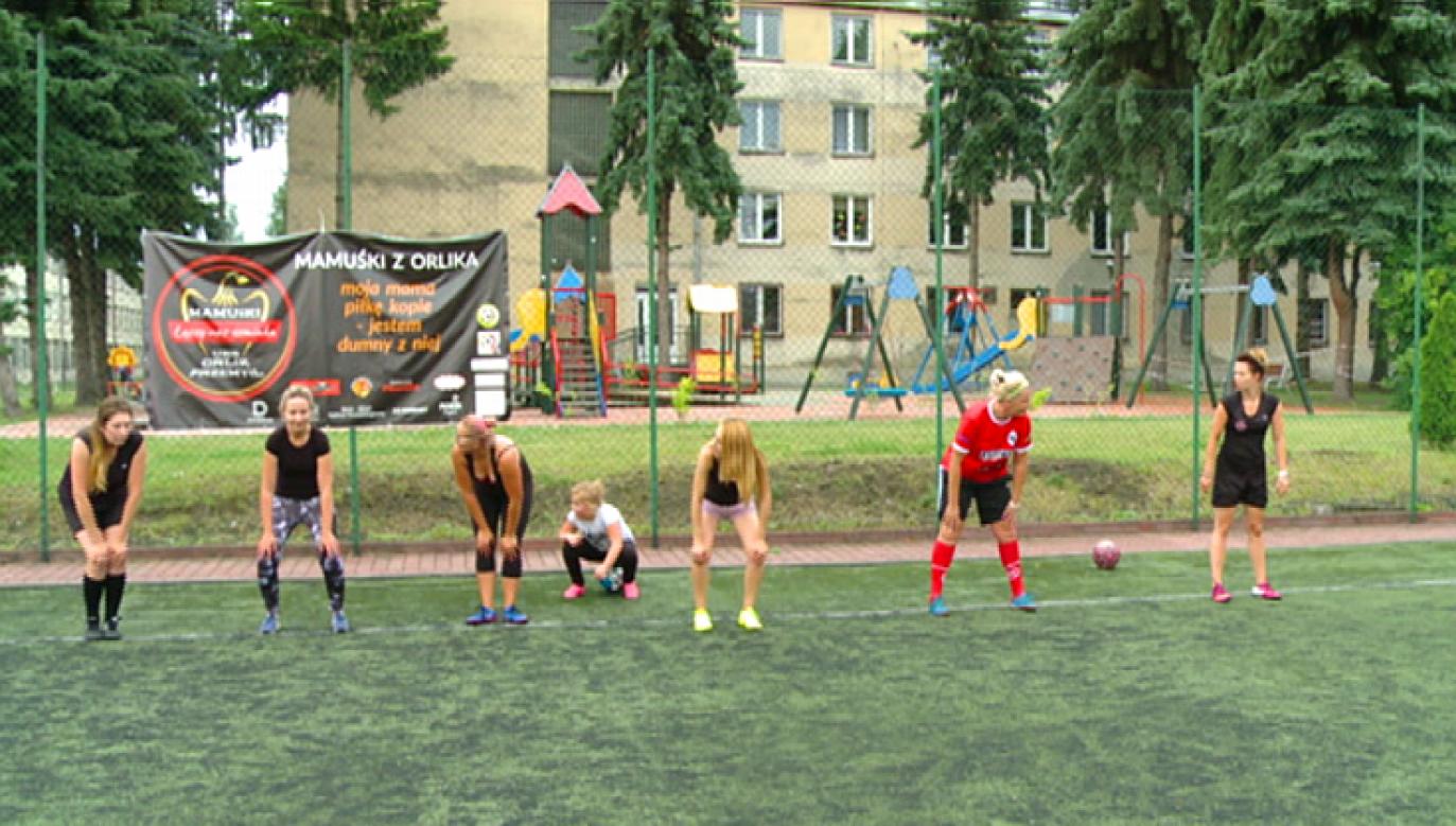 Mamuśki z Przemyśla pokochały piłkę nożną