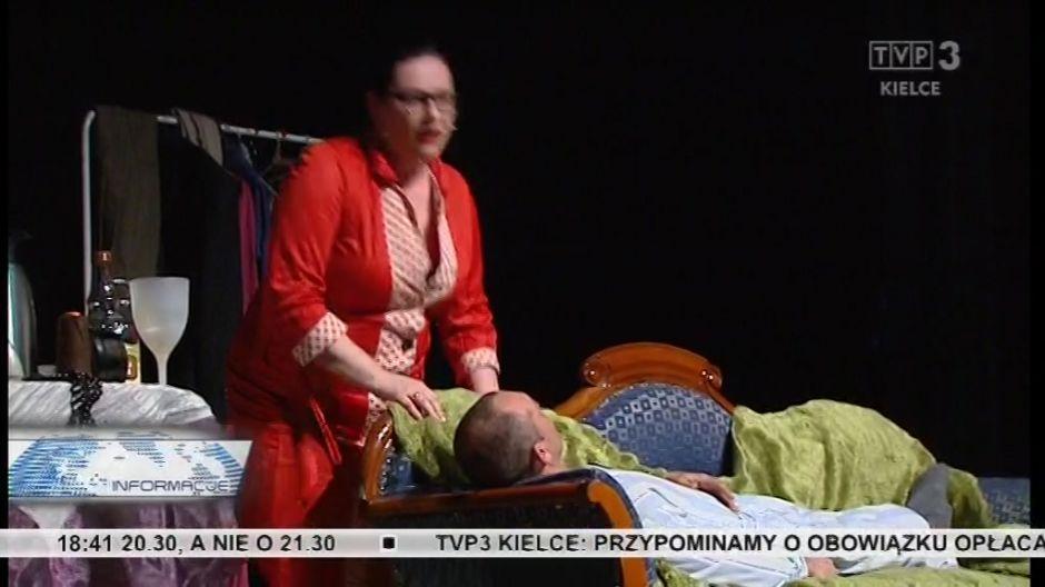 Mąż umarł, ale już czuje sie lepiej - sceny z przedstawienia.