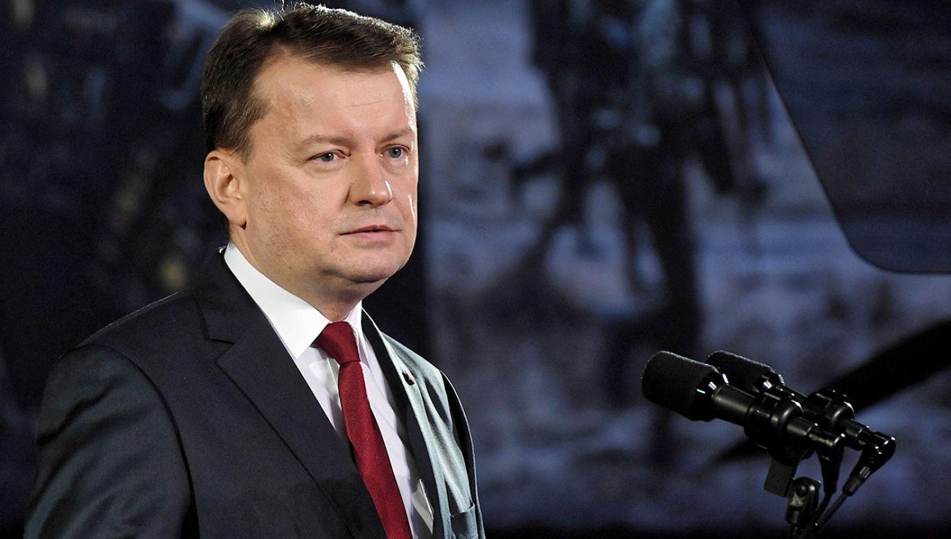 Minister obrony narodowej uczestniczy w Monachijskiej Konferencji Bezpieczeństwa. (fot. PAP/Radek Pietruszka)