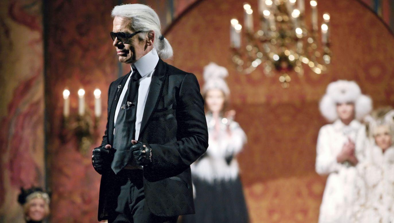 Karl Lagerfeld zmarł w wieku 85 lat (fot. ITAR-TASS/Valery Sharifulin/TASS via Getty Images)